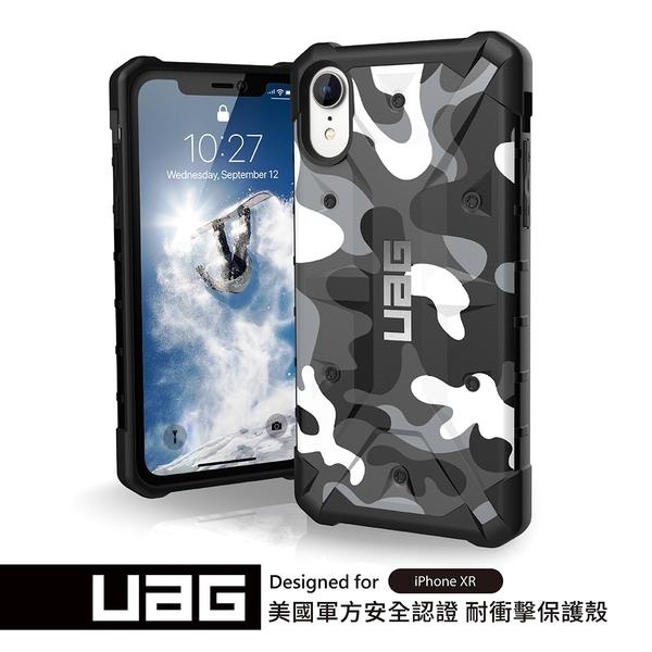 UAG iPhone XR 耐衝擊迷彩保護殼-白色