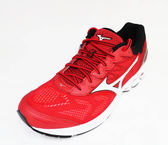 [陽光樂活]MIZUNO 美津濃 WAVE RIDER21 男 慢跑鞋  輕量 透氣 耐磨 高避震 J1GC180301 紅