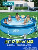 充氣游泳池超大號家用成人兒童泳池加厚加高家庭戲水池 居樂坊生活館YYJ