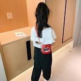 兒童包 兒童包包可愛女童時尚小孩洋氣公主迷你紅單肩寶寶斜背包/側背包-Ballet朵朵