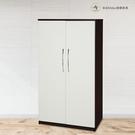 【米朵Miduo】3尺兩門塑鋼衣櫥 塑鋼衣櫃 防水家具