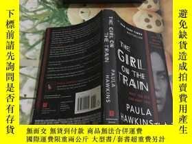 二手書博民逛書店The罕見Girl on the Train 詳情圖見Y352802 Paula Hawkins Riverh