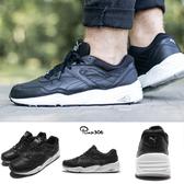 【六折特賣】Puma 慢跑鞋 R698 Core Leather 黑 白 復古 黑白 皮革 運動鞋 男鞋 女鞋【PUMP306】36060102