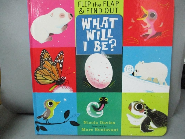 【書寶二手書T2/動植物_NFT】What Will I Be?_Davies, Nicola/ Boutavant, Marc (ILT)