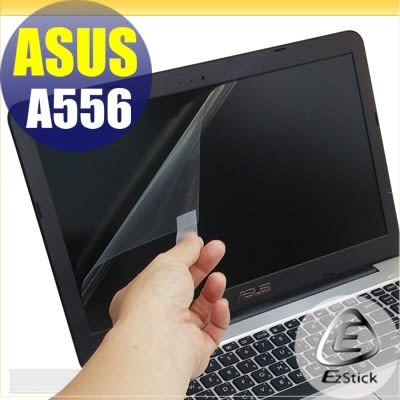 【Ezstick】ASUS A556 燦坤機 專用 靜電式筆電LCD液晶螢幕貼 (可選鏡面或霧面)