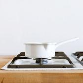 【RIESS】奧地利純白系列-琺瑯單柄牛奶鍋/醬料鍋12cm / 0.5L