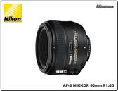 ★相機王★ Nikon AF-S NIKKOR 50mm F1.4 G 平行輸入