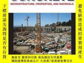 二手書博民逛書店Concrete罕見Microstructure Properties And MaterialsY25626