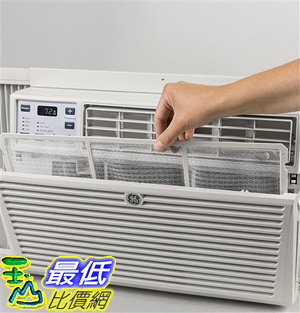 [107美國直購] GE AEM06LX 19 Window Air Conditioner with 6050 Cooling BTU, Energy Star Qualified in Light Cool Gray