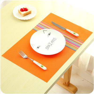 【全館5折】WaBao 簡約長方形餐桌墊 隔熱墊 餐墊 =D03967=