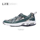 超透氣網布。低腰式鞋口。Air cushion運動鞋【09402】