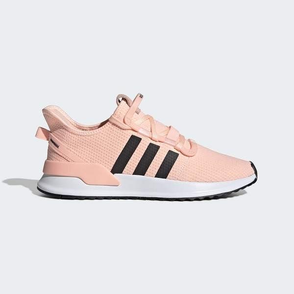 ADIDAS U_PATH RUN W [G27996] 女鞋 運動 休閒 慢跑 復古 網面 輕量 舒適 愛迪達 橘黑