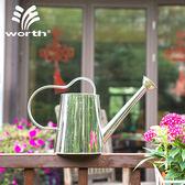 澆水壺園藝不銹鋼澆水壺花園澆花壺家用灑水壺盆栽植物噴水