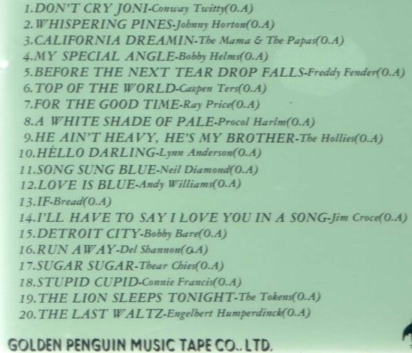 西洋懷念老歌 7 + 8 CD (音樂影片購)