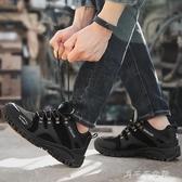 男鞋秋季運動鞋男士休閒鞋戶外鞋登山鞋男防滑耐磨旅遊鞋爸爸鞋子千千女鞋