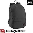 【Caribee 澳洲 RUSH 24L電腦背包《黑》】CE-6104/自助旅行/筆電背包/後背包手提包/行李包