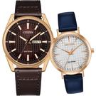 CITIZEN 星辰 光動能情侶手錶 對錶/42+36mm AW0083-08X+EM0763-07A