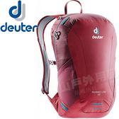 Deuter 3410118莓紅/紫 Speed Lite 16L輕量透氣背包 健行包/雙肩後背包/自助旅行包/自行車包