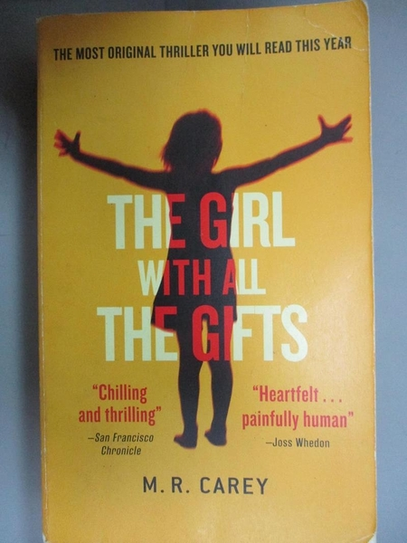 【書寶二手書T4/原文小說_HOD】The Girl With All the Gifts_M. R. Carey