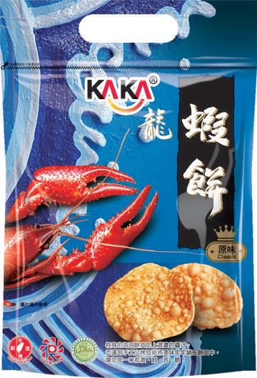 KAKA蝦餅-原味80g*1包【合迷雅好物超級商城】