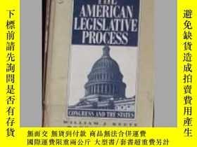 二手書博民逛書店The罕見American Legislative Proces