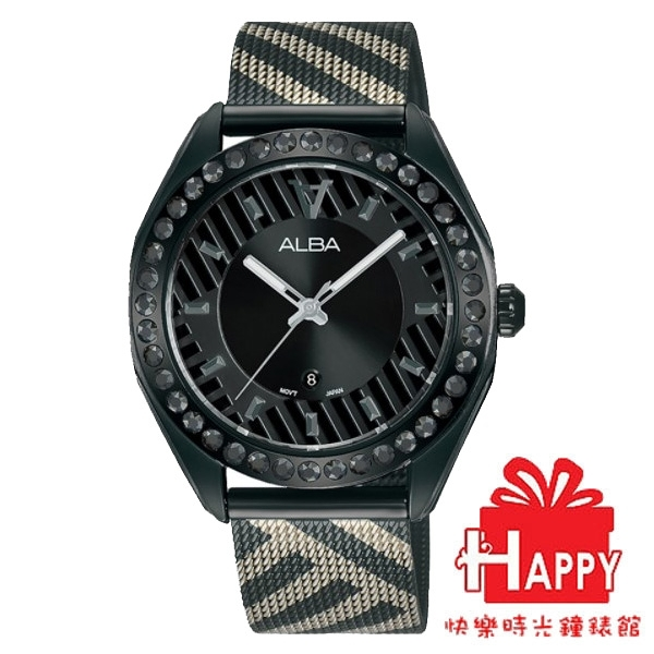 ALBA雅柏 新上市 限量東京街頭時尚對錶 VJ22-X336SD (AH7W69X1) 女錶