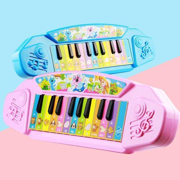 中英兒童多功能電子琴女孩玩具早教啟蒙嬰兒早教音樂小孩寶寶鋼琴igo 後街五號