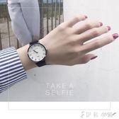 小清新手錶學院派森女學生韓版簡約復古大氣休閒男石英錶   伊鞋本鋪