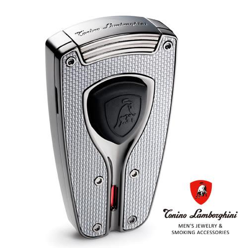 義大利 藍寶堅尼精品 - FORZA LIGHTER  極限競速 打火機(銀色) ★ Tonino Lamborghini 原廠進口 ★