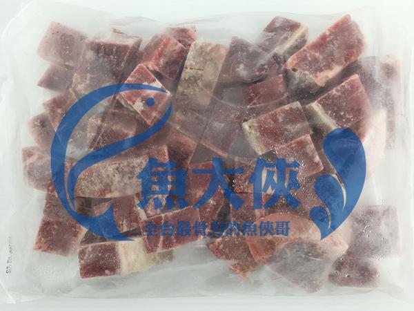 F3【魚大俠】BF001美國原肉骰子牛肉(500G/包)