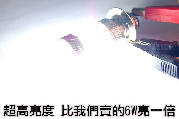 小盤 12W魚眼LED大燈(小皿 電動車)