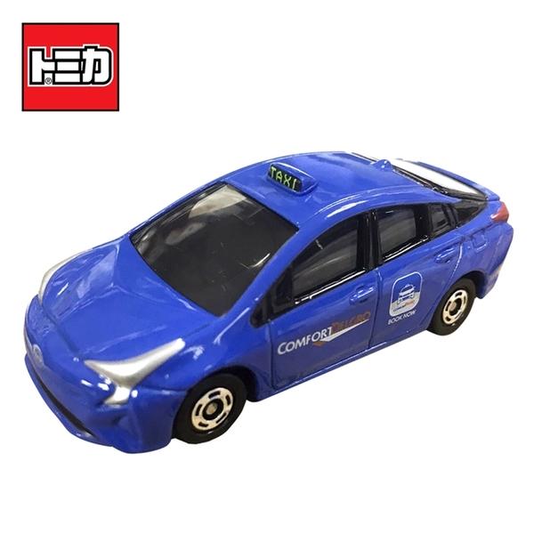 【日本正版】TOMICA 亞洲限定 新加坡TAXI 藍色款 計程車 玩具車 Toyota Prius 多美小汽車 - 974581