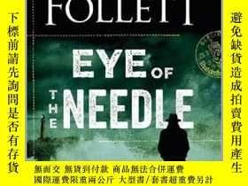 二手書博民逛書店英文原版罕見針眼 肯·福萊特懸疑經典 Eye of the Ne