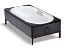 【麗室衛浴】美國 KOHLER Ming 橢圓型 崁入式鑄鐵浴缸 K-20194T-0 1700*800mm 門市品出清~
