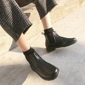 馬丁靴 2020ulzzang正韓新款英倫風馬丁靴學生平底靴百搭短靴女靴女鞋【星時代女王】