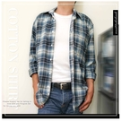 【大盤大】(S11323) 男士 M-2XL 純棉 口袋 休閒襯衫 格子襯衫 經典格紋 輕刷毛 保暖內搭 上班族