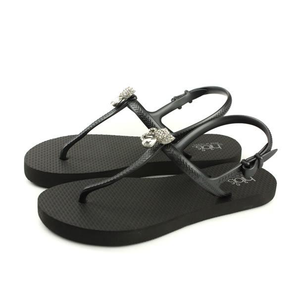 夾腳涼鞋 黑色 女鞋 82401-01 no146