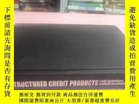 二手書博民逛書店Structured罕見Credit ProductsY2856