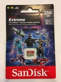 【公司貨 終身保固 】SanDisk Extreme microSDXC 256GB (U3 A2 V30) 160MB/s 【無轉卡】micro SDXC SD TF 256G