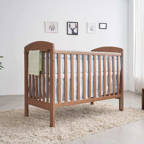 【加購五角遊戲床只要$1390】童心 三合一嬰兒床-奧斯卡大床 附聚酯棉嬰幼兒床墊(內徑:120*60cm)
