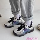 老爹鞋老爹鞋女ins潮超火百搭網紅學生厚底2021年春季新款運動鞋小白鞋 JUST M