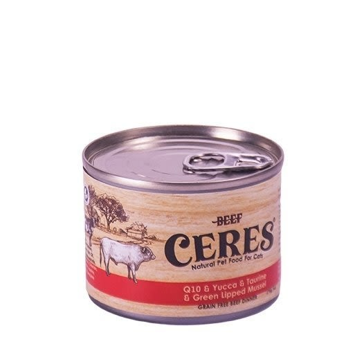 *King Wang*【24罐】紐西蘭CERES克瑞斯》天然無穀貓用寵物主食餐罐 175g