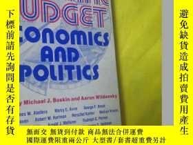 二手書博民逛書店the罕見Federal Budget - Economics and Politics【英文原版書】32開本