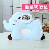 嬰兒枕頭0-1歲新生兒防偏頭透氣可洗寶寶0-6個月卡通絨面定型枕『小宅妮時尚』
