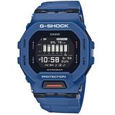 CASIO 卡西歐 G-SHOCK 藍牙 計步 GBD-200-2