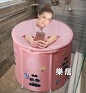 折疊泡澡桶 澡盆大人保溫浴桶全身加厚汗蒸...