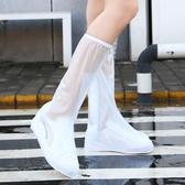 雨鞋買1送1雨鞋套女中筒水靴防水防滑兒童加厚水鞋男耐磨短筒成人雨靴 聖誕節