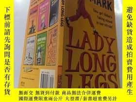 二手書博民逛書店Lady罕見Long Legs 女人長腿Y200392