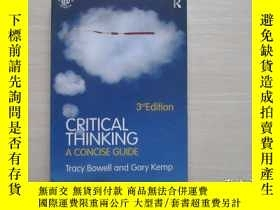 二手書博民逛書店CRITICAL罕見THINKING A CONCISE GUI