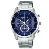 【人文行旅】Agnes b. | 法國簡約雅痞 FBRD980 太陽能時尚腕錶 40mm